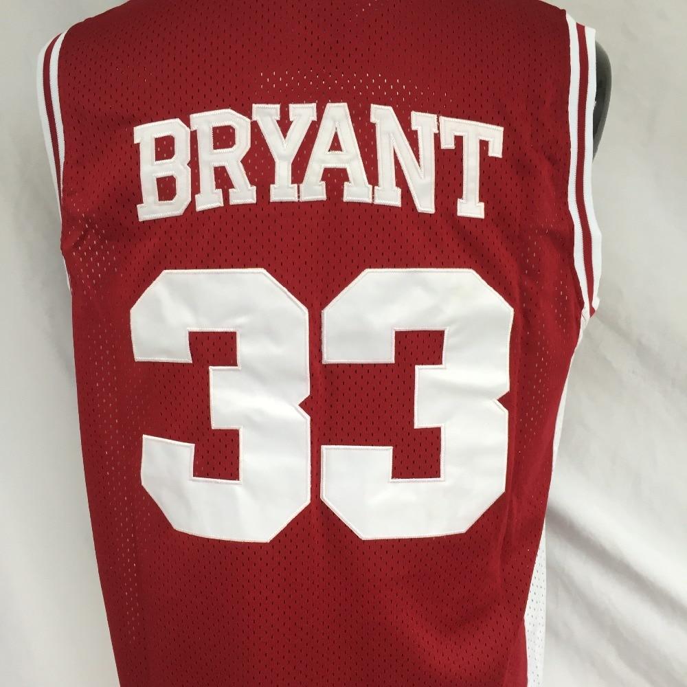 5bc5d42ac766 DUEWEER Mens Lower Merion Kobe Bryant High School Basketball Jerseys Cheap  Black 33 Kobe Bryant HS Basketball Stitched Shirts-in Basketball Jerseys  from ...