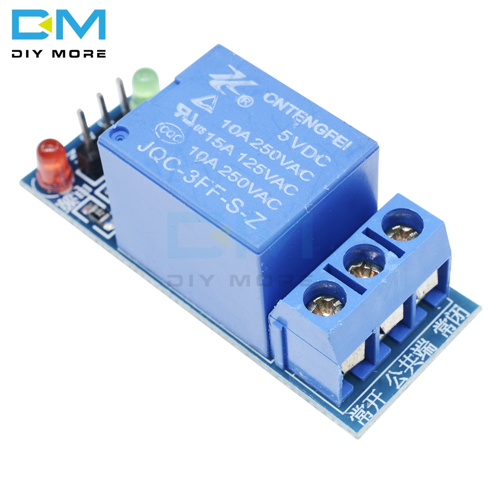 5V low level trigger One 1 Channel Relay Power Module interface Board Shield For Arduino PIC AVR DSP ARM MCU DC AC 220V