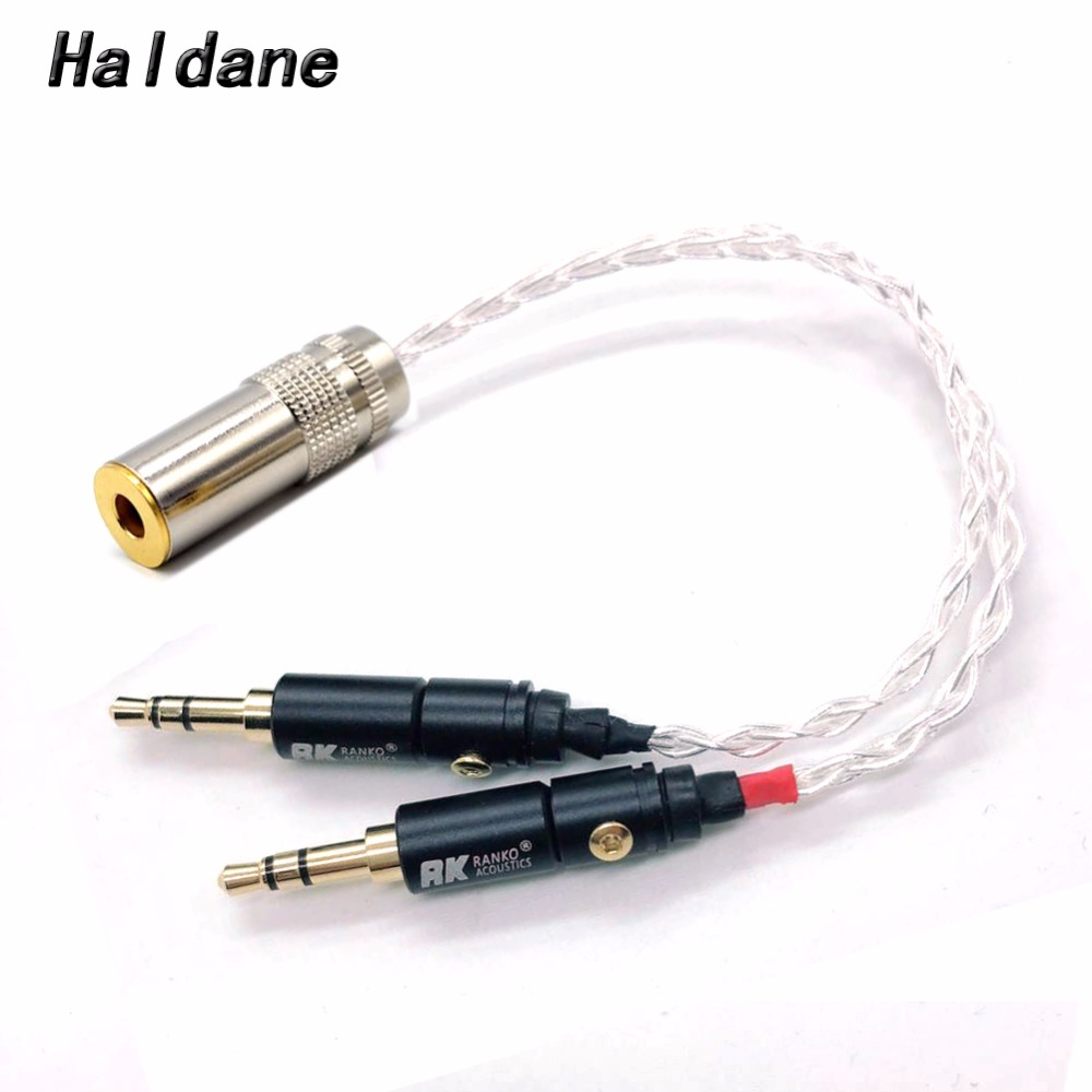 Portable Audio & Video The Cheapest Price Pure Silver Shielding 4pin Xlr Female To 4.4mm Male Audio Adapter Converter Cable For Sony Pha-2a Ta-zh1es Nw-wm1z Nw-wm Special Buy Earphone Accessories