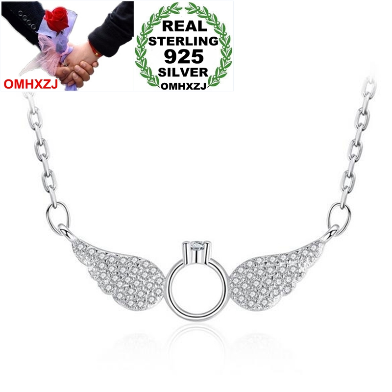 925 Sterling Silver ANGEL NECKLACE 18 inch Chain Pendant Girls