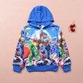 1pcs Children boy's Autumn long sleeve  boy Captain America Iron Man The Avengers Hoodies & Sweatshirts