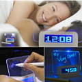 Hot sale LED Luminous Message Board Digital kids Alarm Clock With Calendar  LED Clock Chrismas gift for child bedroom decor