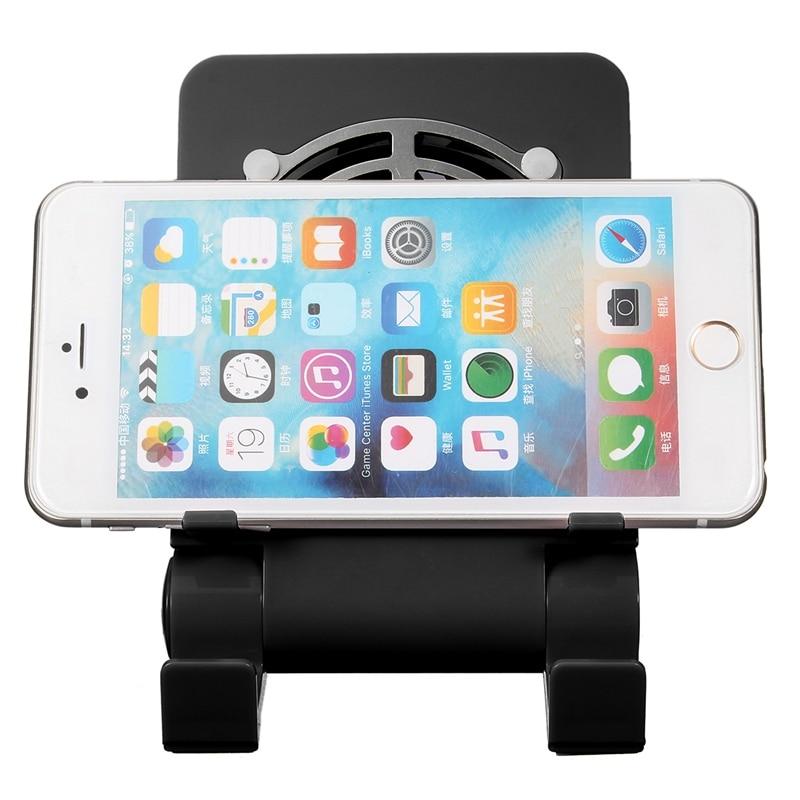 Adjustable Universal Mobile Phone Tablet USB Radiator Bracket Holder Desktop Cooling Down Stand For iPhone For iPad For Samsung