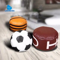 LEVMOON Beanbag Sofa Chair Ball Seat Zac Comfort Bean Bag Bed Cover Without Filling Just Shell