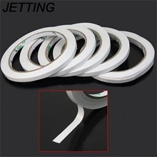 JETTING 2 Rolls Hot Powerful Double Faced Adhesive Tape paper Double Sided  Tape For Mounting Fixing Pad Sticky 2e6e59053a4c