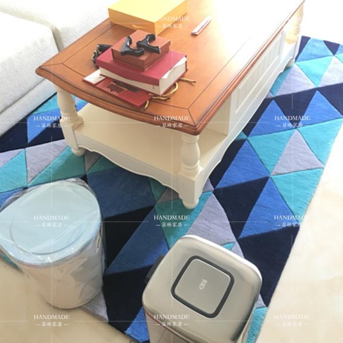 Kollision Farbe Teppich Matte Handgefertigte Teppiche Wohnzimmer Schlafzimmer Mode Kreative Couchtisch Sofa Individualitt Trend