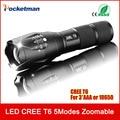 Zk35 CREE 3800 Люмен E17 XM-L T6 Cree Светодиодный Фонарик Масштабируемые Cree СВЕТОДИОДНЫЙ Фонарик Факел Свет Для 3 3xaaa или 1x18650 Бесплатная Доставка доставка