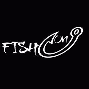 Image 1 - Sliverysea 18*7 cm 낚시 훅 어부 물고기 취미 남성용 비닐 자동차 창 스티커 데칼 블랙 실버