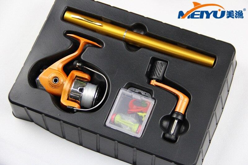 EMMROD EMMROD1M Carbon Pen Fishing Rod Mini Portable Sea Gift Free Shipping
