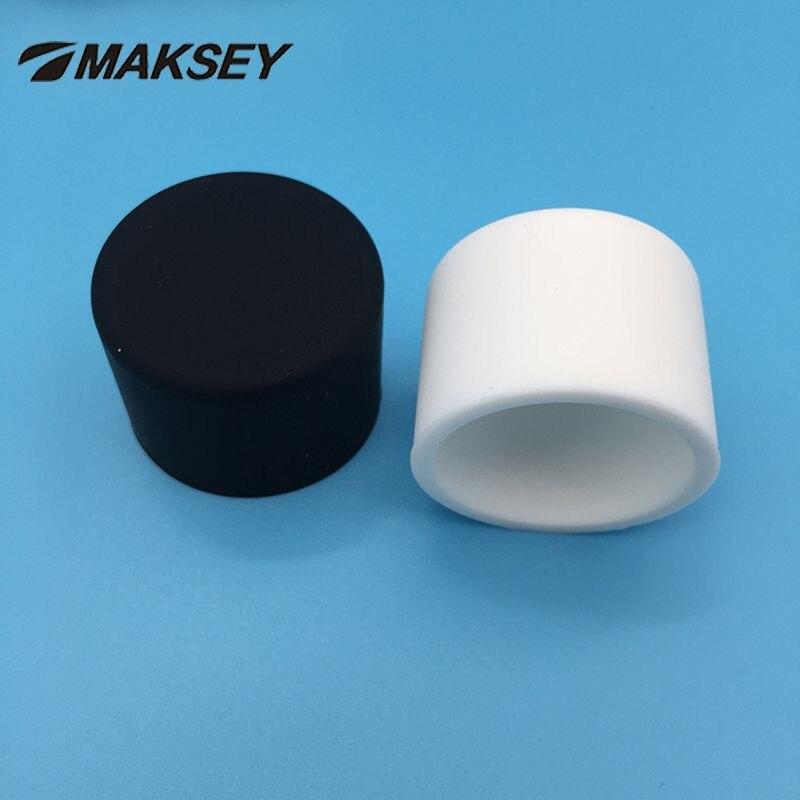 Fußkappen 60x60x3 MM Tube Stopper End Caps Black Caps New