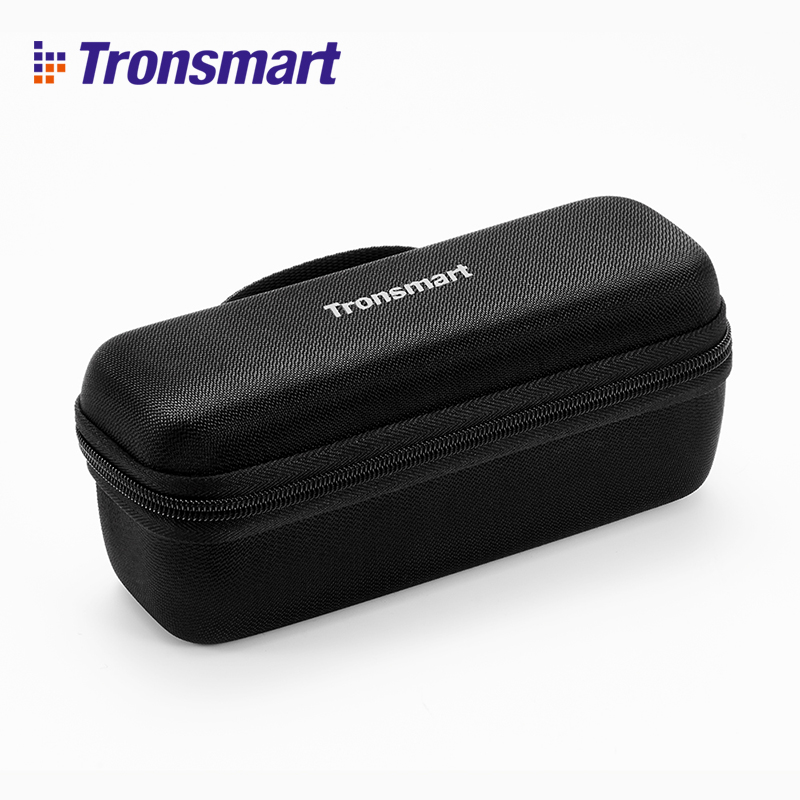 Tronsmart Element Mega Bluetooth Speaker Carrying Case Speakers Accessories Speaker Cover Black for Tronsmart Element Mega tronsmart element t6 mini bluetooth speaker portable wireless speaker with 360 degree stereo sound for ios android xiaomi player