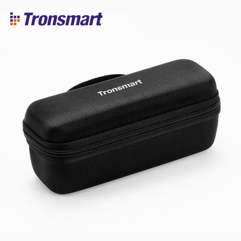 Tronsmart Element Mega Bluetooth Lautsprecher Tragetasche Lautsprecher Zubehör Lautsprecher Abdeckung Schwarz für Tronsmart Element Mega