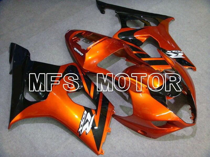 Для Suzuki GSXR 1000 К3 2003 2004 АБС впрыска Обтекателя комплекты GSXR1000 К3 03 04 - другие - оранжевый/черный