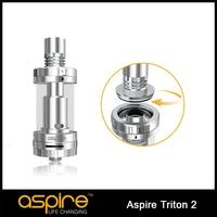 Aspire triton 2 xe tăng 3 ml điều chỉnh luồng không khí với sub ohm cuộn dây điều chỉnh luồng không khí rta hệ thống top bơm lại 100% original