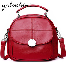 YABEISHINI Leisure Soft Leather Female Backpack 2018 Multifunction Small Travel Bag Mini Women Shoulder Bags Sac A Dos