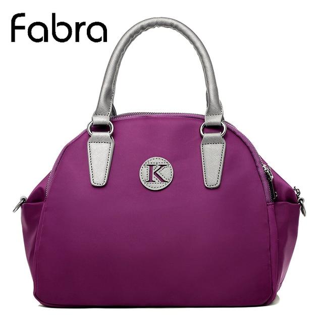 FabraNew 2017 Women Handbags Shell Casual Waterproof Nylon Messenger Bags Ladies Tote Bag Shoulder Crossbody Bags Bolso Mujeres