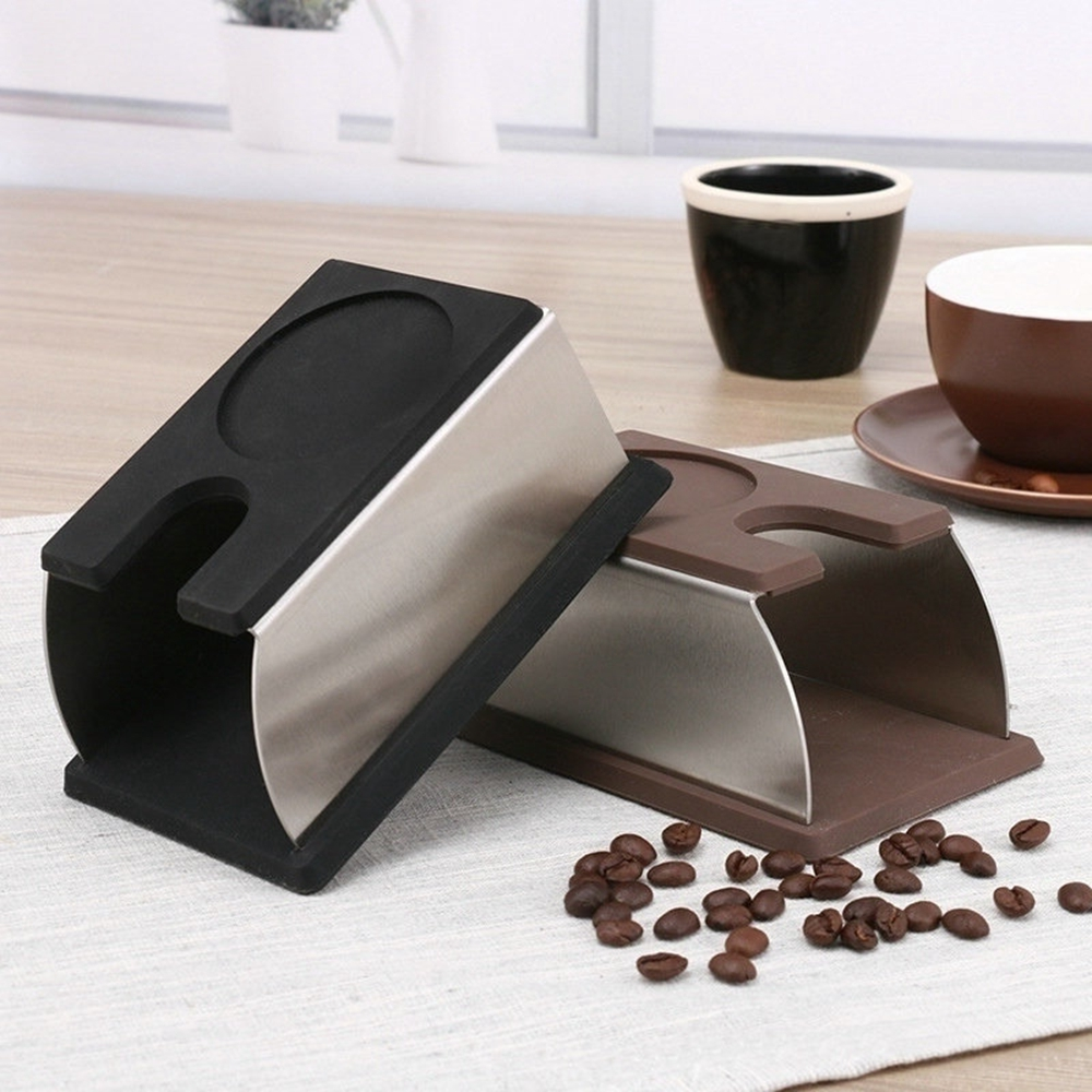 Silicone Espresso Coffee Tamper Holder Stand Rack Shelf Coffee Machine Tool|Coffee Tampers| |  - title=