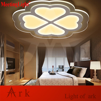 Meetinglight Modern 45 45cm Love Shape Acrylic Remote Control Dimming Led Ceiling Light Living Room Bed