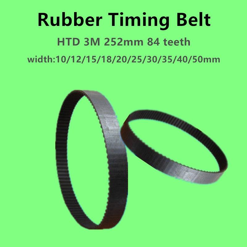 D/&D PowerDrive 501-3M-15 Timing Belt