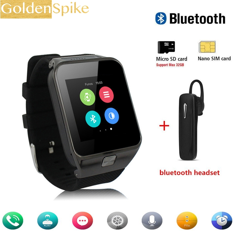 K9 Smart Watch MTK6572 Dual Core Bluetooth 4.0 Smartwatch 512MB RAM 4GB ROM 3G WIFI GPS Camera support SIM/TF Card цена