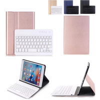 New 2017 High Quality Ultra Thin Business Detachable Wireless Bluetooth Keyboard Case Cover For Apple IPad