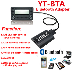 Image 5 - Автомобильный аудио Bluetooth AUX mp3 интерфейсы Yatour для Lexus Toyota Camry Corolla Highlander RAV4 Vitz Avensis