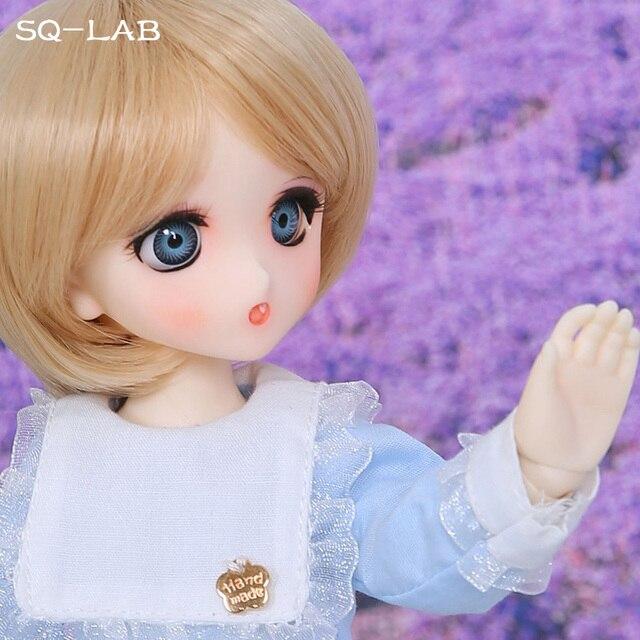 SQ Lab_ Ren Chibi 26cm 1/6 BJD SD Resin Model Hot Baby Girls Boys Dolls High Quality Gift Toys Shop Fullset OUENEIFS 3