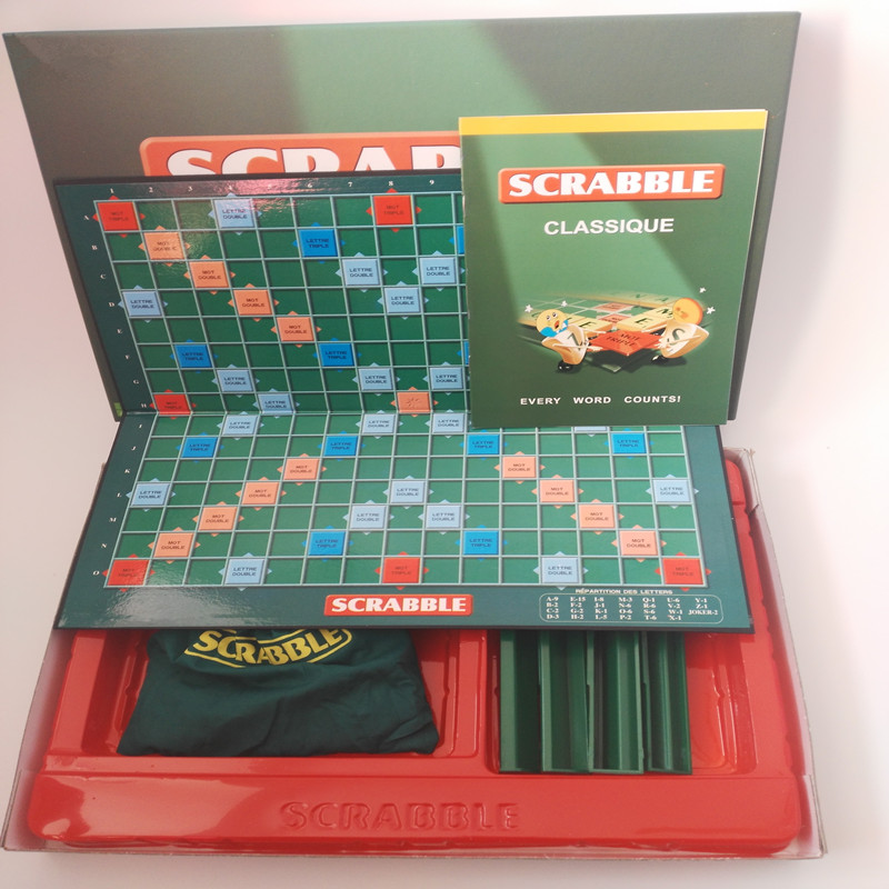 Kvalitet fransk Scrabble Games Board Puzzle Game Original Word - Puslespill - Bilde 2