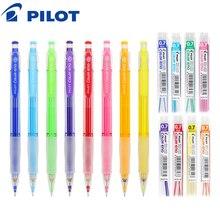8 ألوان مجموعة الطيار HCR 197 اللون إينو قلم رصاص الميكانيكية مع 8 ألوان مجموعة قلم رصاص يؤدي 0.7 مللي متر
