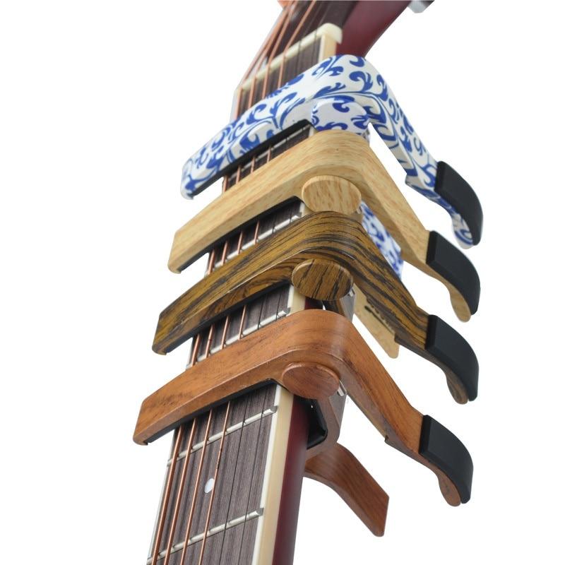 MA-12 Capo 6-String Acoustic Guitar Capo for Acoustic and Electric Guitars, Zinc Alloy- Quick Change Capo Guitar Parts Accessori alloy classical guitar capo black silver