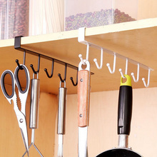Iron Kitchen Organizer And Storage Rack Hanging Hooks Cup Cooker Dish Shelf  Organizer Holder For Bathroom