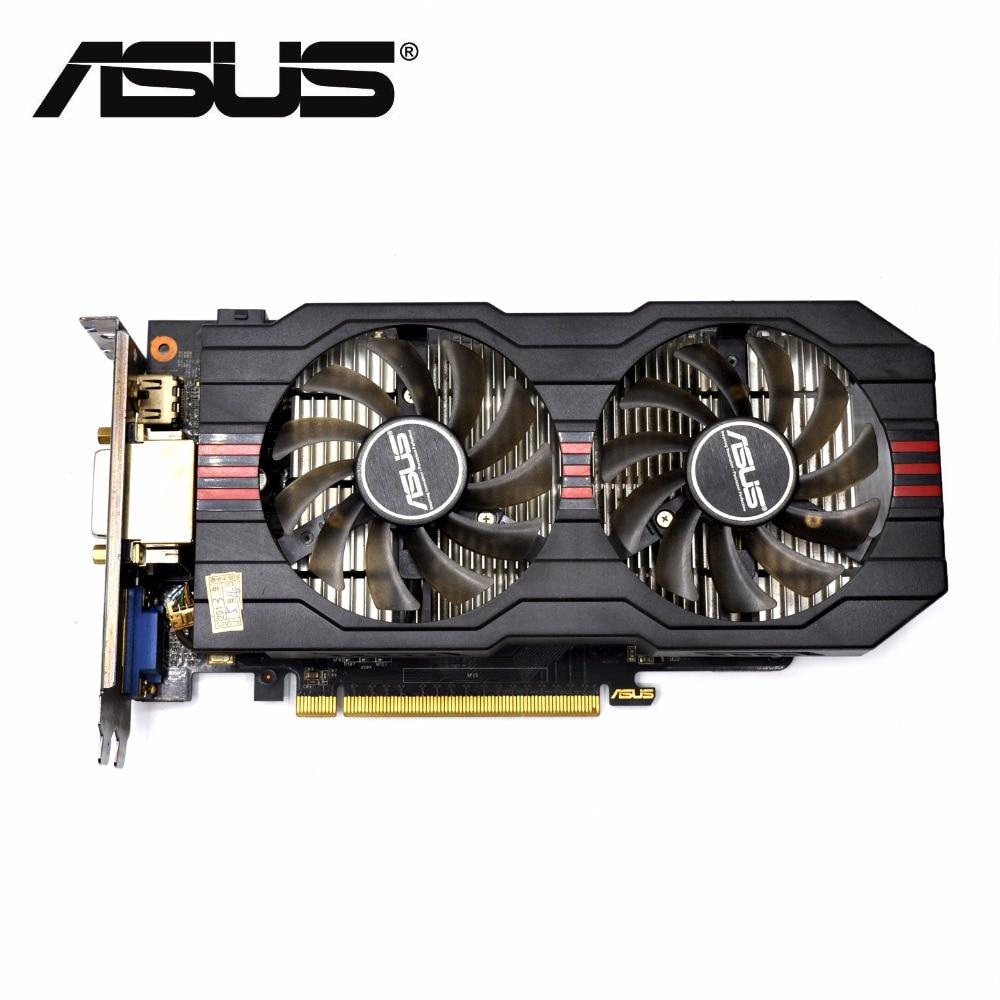 Used,original ASUS GTX 650TI GPU graphics card  2GB GDDR5 128BIT VGA Card  gaming Stronger than GT630 ,GT730