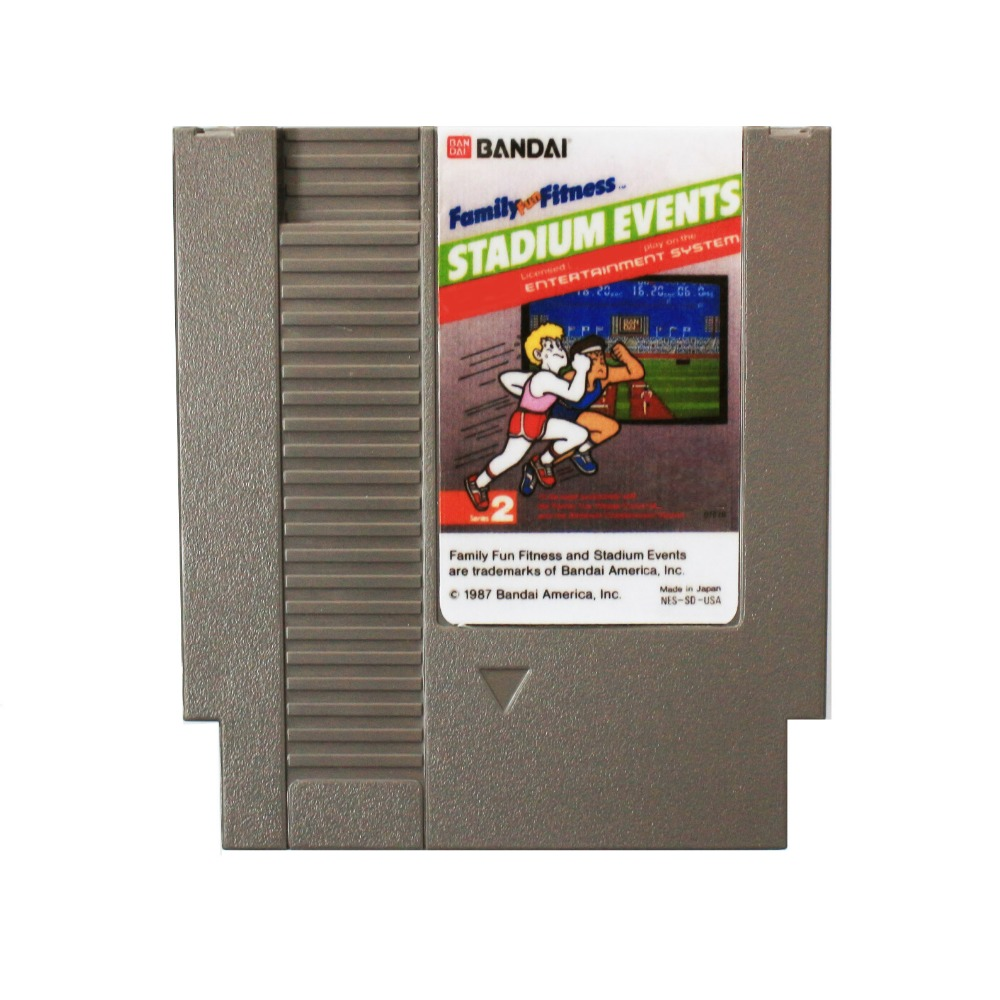 Hot Sale! <font><b>72</b></font> <font><b>Pins</b></font> cartridge 8 Bit <font><b>Game</b></font> <font><b>Card</b></font> Drop Shipping - Stadium Events image