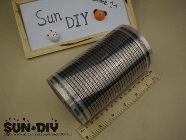 Free Shipping Transparent Punch Cards 24 Pin 100 Pcs For BROTHER/ SILVER REED Machines Knitting Sweater Hand Crafts