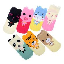 Women Girl Cute Socks Slippers Hosiery Cartoon Ladies Short Korean Student Cotton Low Cut Ankle Socks Free Shipping
