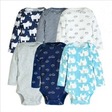 Newborn baby boy clothing set Baby girl Cotton long sleeve