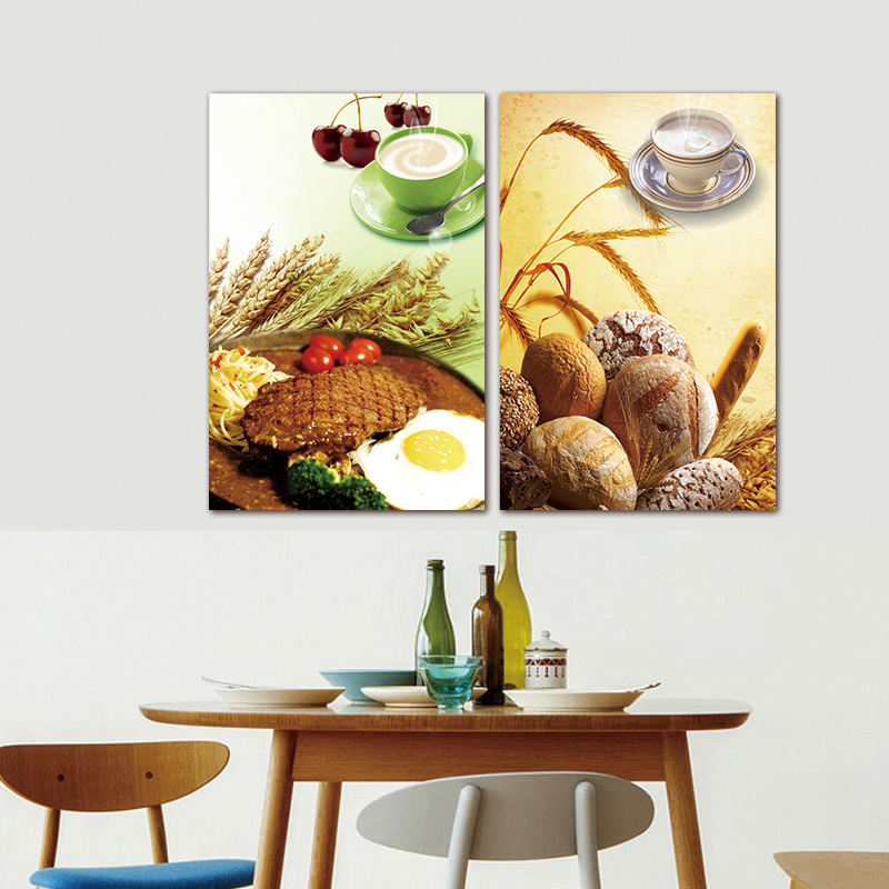 Aliexpress Com Buy Kitchen Decor Food Quote Canvas: Aliexpress.com : Buy Unframed Steak Coffee Canvas Picture