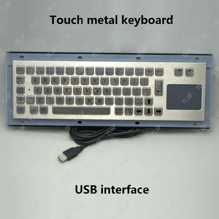 Здесь продается  Metal keyboard, YLGF HS330C5 EN  USB interface   embedded     Waterproof (IP54), dust, anti violence Waterproof keyboard  Компьютер & сеть