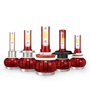Image 2 - K1 LED H4 H1 H7 H8 H9 H11 9005 HB3 9006 HB4 Car COB LED Headlight Auto Lamp Headlights Bulb 36W 6000K 8000LM Car Light