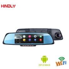 6.86″ Car Camera Android DVR GPS Navigation Dual Lens Rearview Mirror Video Recorder FHD 1080P Automobile DVR Mirror Dash cam