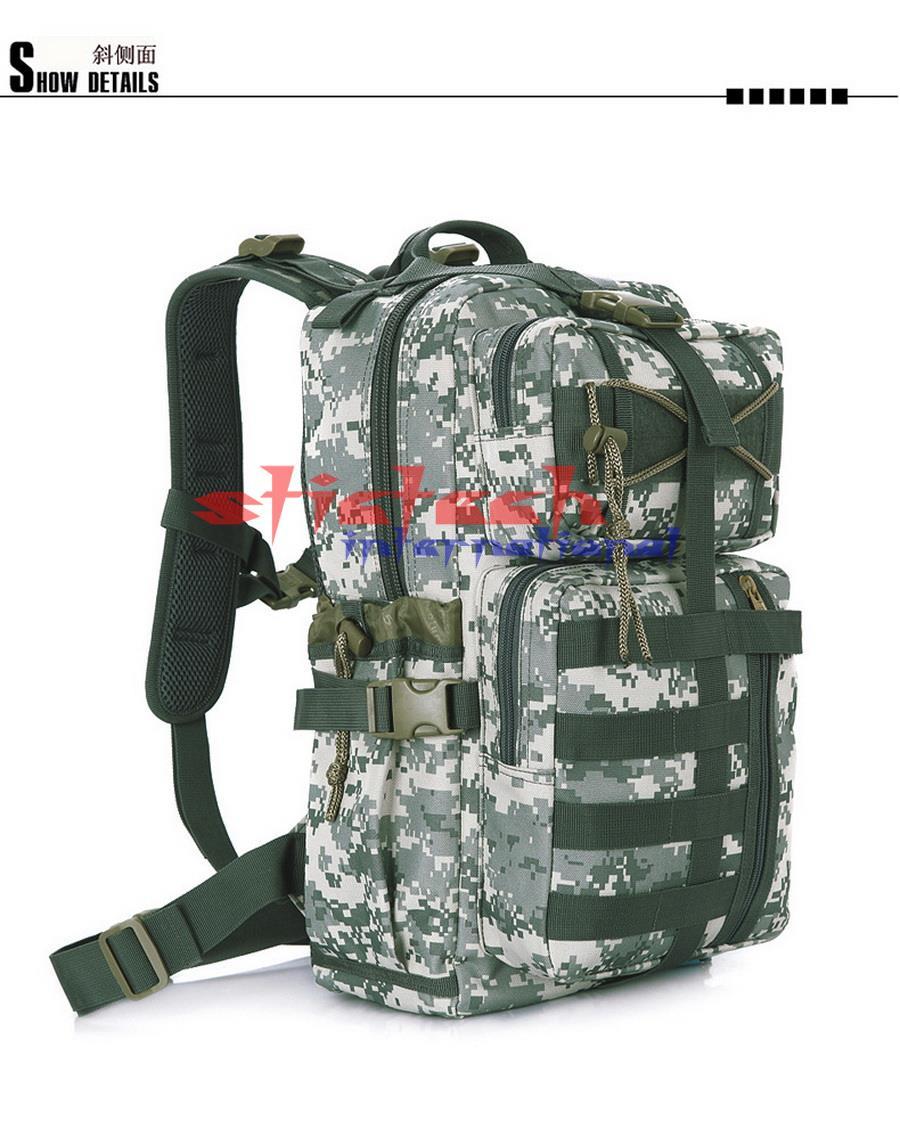 Sac desert Pcs cp Digital Camo Camouflage Dhl mud Système Ou Black À Assault Soldat Molle Ems Camouflage Militaire Par 10 Dos acu OXN0wnPk8