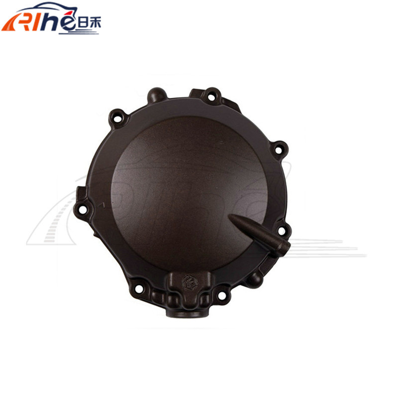 ФОТО motorcycle accessories aluminum engine stator crank case cover black left engine stator cover for kawasaki  ZX -12R 2000-2001