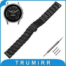 22mm Libération Rapide En Céramique Montre Bande + Outil pour Vecteur Luna/Méridien Xiaomi Smartwatch Huami Amazfit Bracelet Poignet ceinture Bracelet