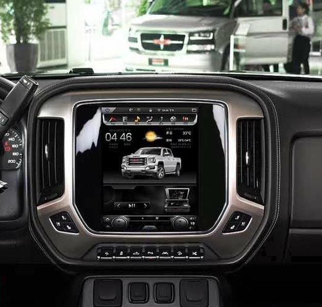 LaiQi 10,4 Quadcore dvd плеер автомобиля 1280x768 по вертикали Экран 32 ГБ Встроенная память стерео gps навигации для GMC Sierra