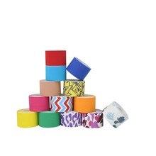 Elastic Cotton Roll Adhesive Tape 5cm*5cm Sports Muscle Tape Bandage Care Kinesi