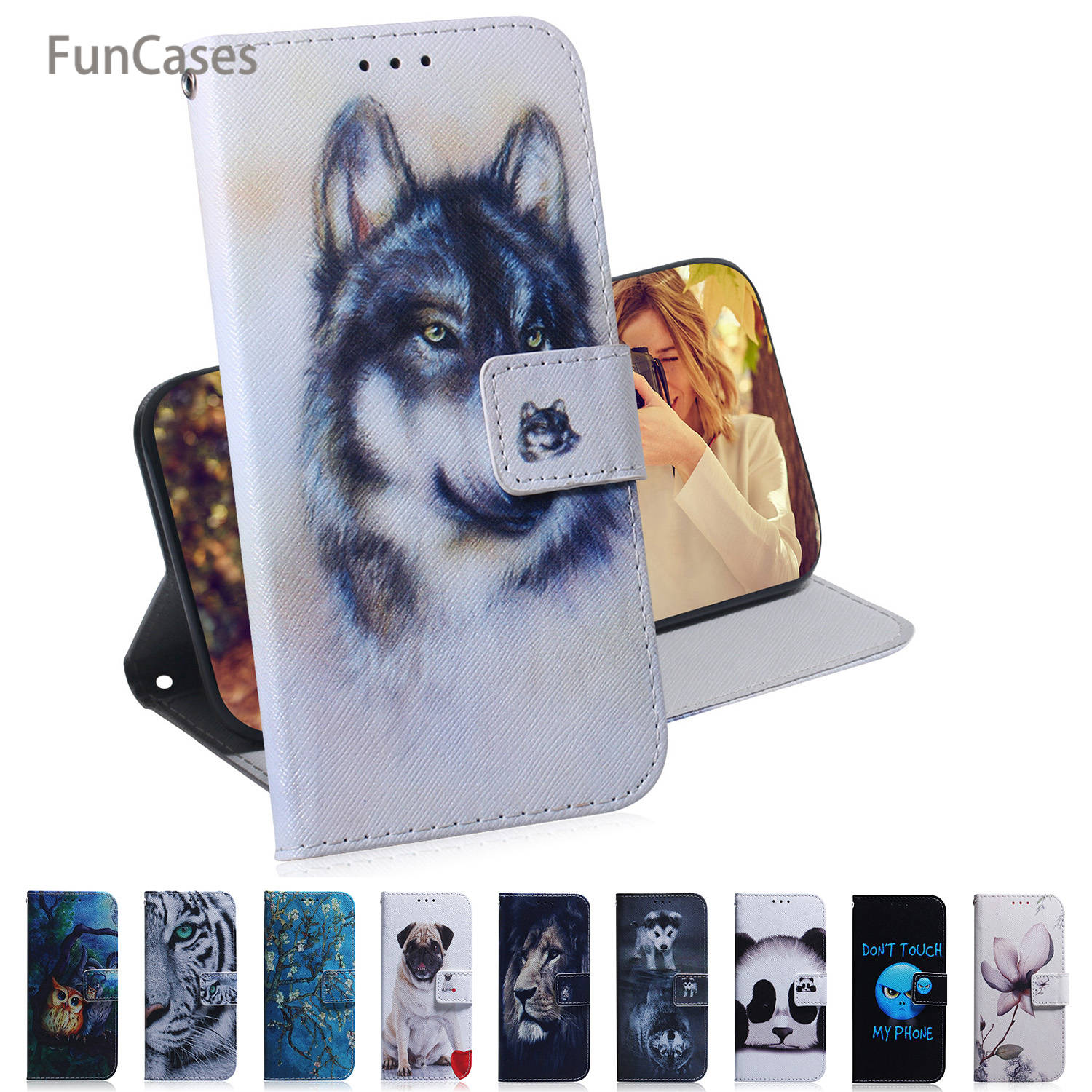 PU Leather Wallet Case For <font><b>Samsung</b></font> A50 Holsters Clips Cases sFor <font><b>Samsung</b></font> Galaxy A2 Core A20E A30 A40 A60 A750 <font><b>A70</b></font> A80 A9 2018 image