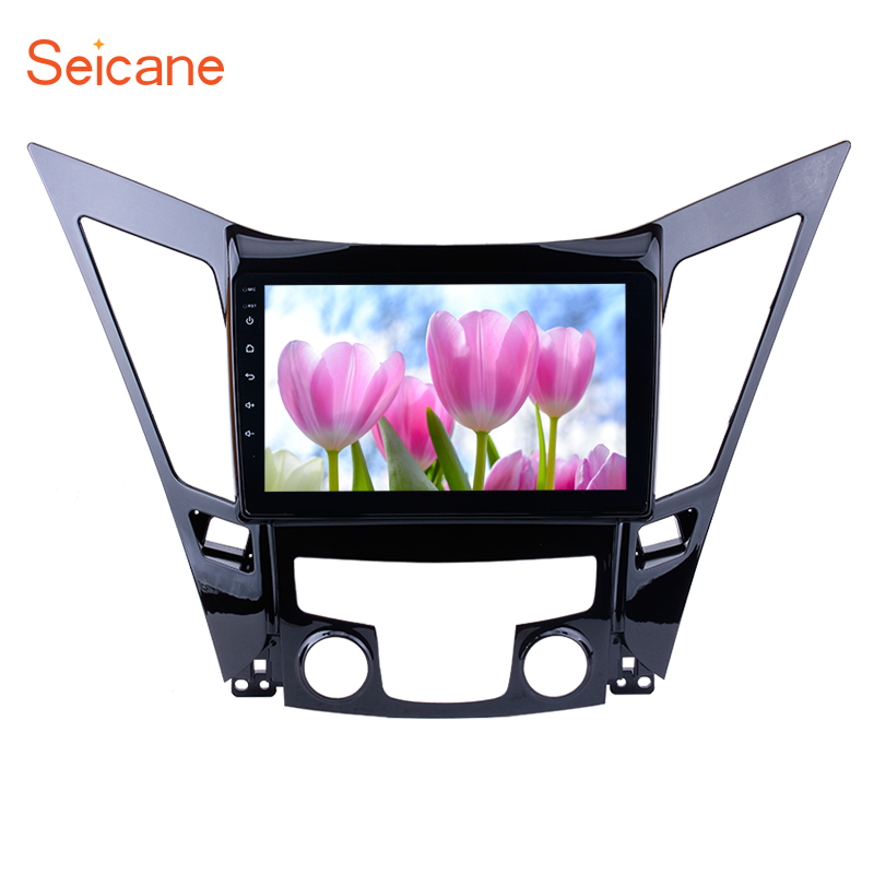 Seicane Android 6.0 Car GPS Multimedia Navi Stereo Player For 2011 2012 2013 2014 2015 HYUNDAI Sonata i40 i45 With Touch Screen