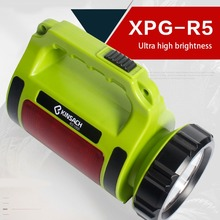 LED Flashlight Portable Spotlights Searchlight High power 5 lighting modes XP-G2 USB Rechargeable torch led camping light