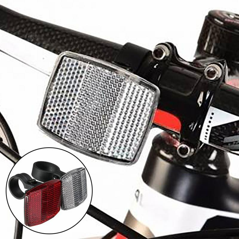 Bicycle Front Rear Reflective Lens MTB Road Bike Automatic Reflectors Cycling Warning Light Bike Accessories Drop Shipping