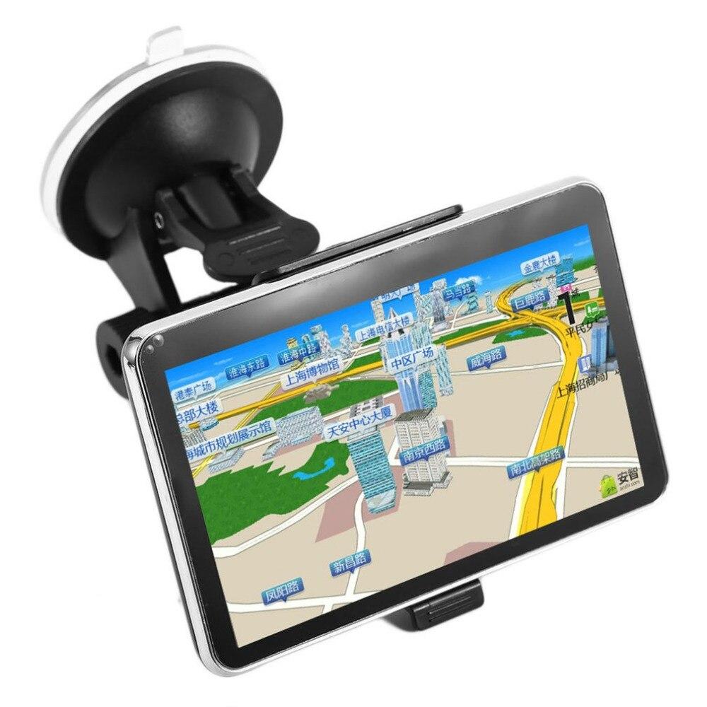 2017 High Quality New 5 inch TFT LCD Display CAR GPS Navigator TRUCK SAT NAV 8GB 560 Car Styling Hot Selling!